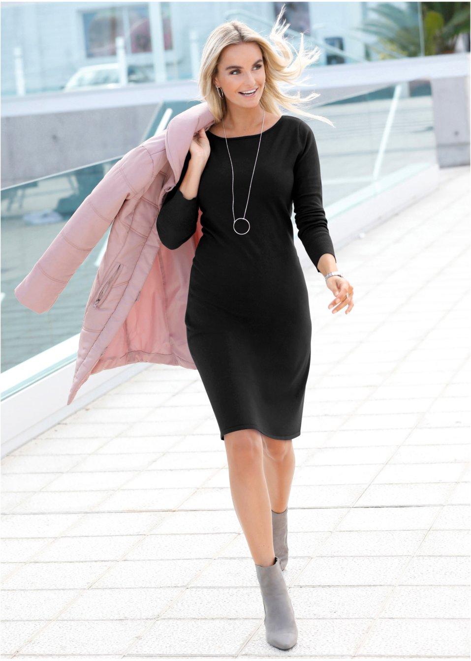 schwarze kleider jetzt online bestellen | bonprix