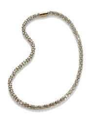 "Glitzerserie ""Kristall"", bpc selection, Collier goldfarben"
