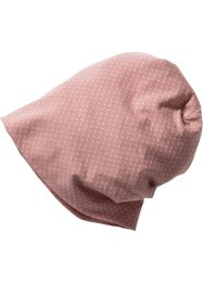 Beanie mit Pünktchen, bpc bonprix collection, rosa