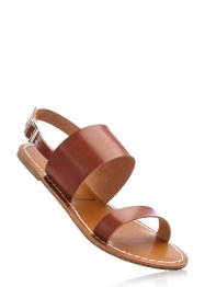 Sandale, bpc bonprix collection, cognac