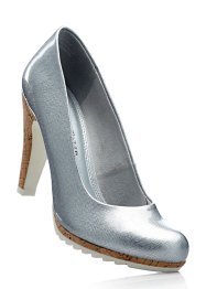 Pumps, Marco Tozzi, silber metallic