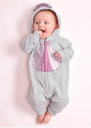 Baby Sweat Overall Bio-Baumwolle, bpc bonprix collection