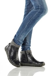Bequeme Stiefelette mit Strickrand, bpc selection