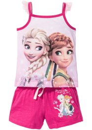 """FROZEN"" Top + Shorts (2-tlg.), Disney, pink bedruckt ""FROZEN"""