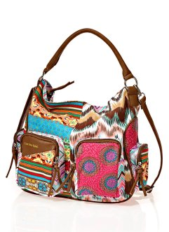 Tasche Multi, bpc bonprix collection, braun multi