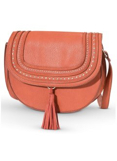 Tasche, bpc bonprix collection, cognac/gold