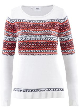 Pullover mit Jacquard-Muster, bpc bonprix collection