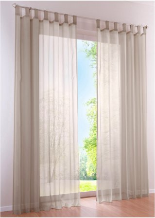 vorh nge in vielen gr en online bestellen bonprix. Black Bedroom Furniture Sets. Home Design Ideas