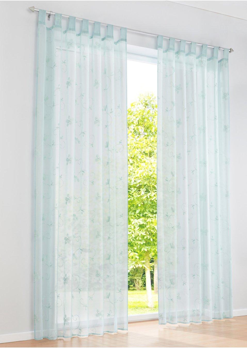 gardine nala 1er pack mint bpc living online bestellen. Black Bedroom Furniture Sets. Home Design Ideas