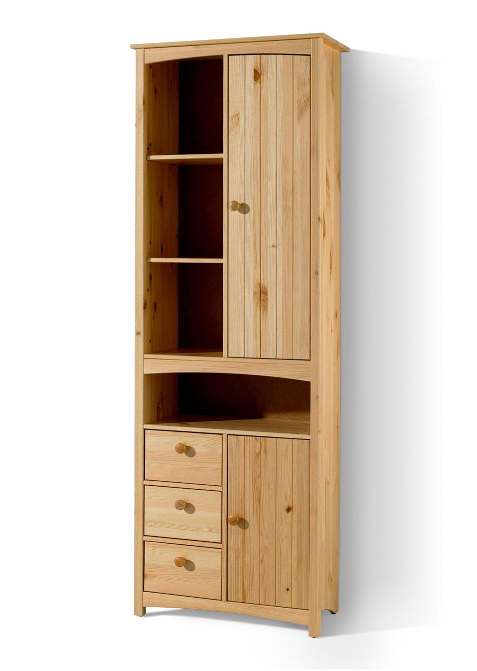 zweckm ig und im sch nen look der badezimmer hochschrank paula natur breit. Black Bedroom Furniture Sets. Home Design Ideas