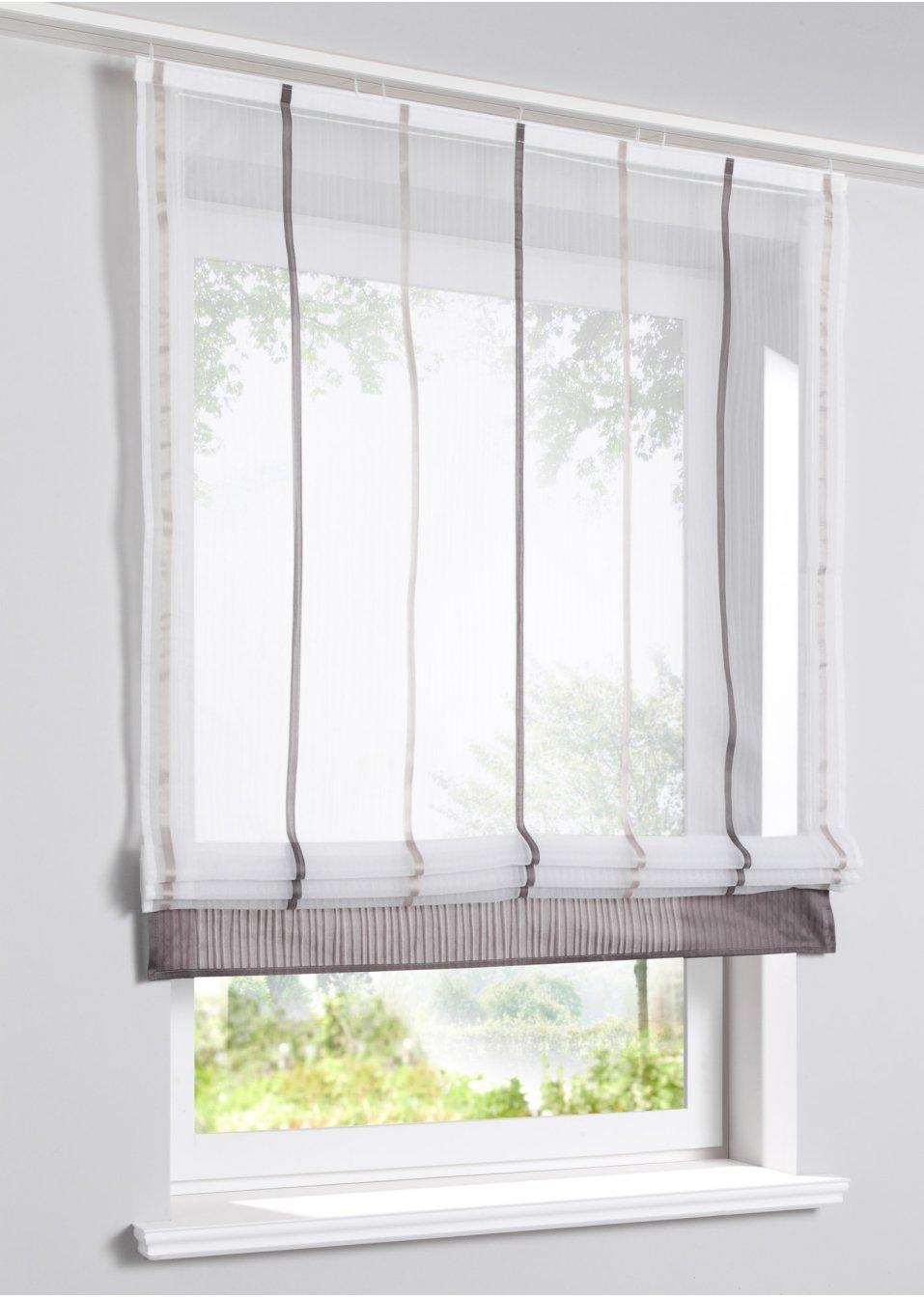 raffrollo dublin stein wohnen. Black Bedroom Furniture Sets. Home Design Ideas