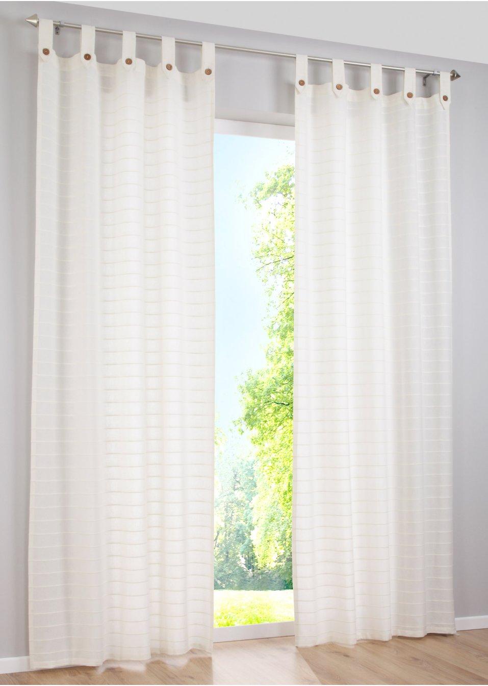Vorhang iska 1er pack blau bpc living - Bonprix vorhang ...