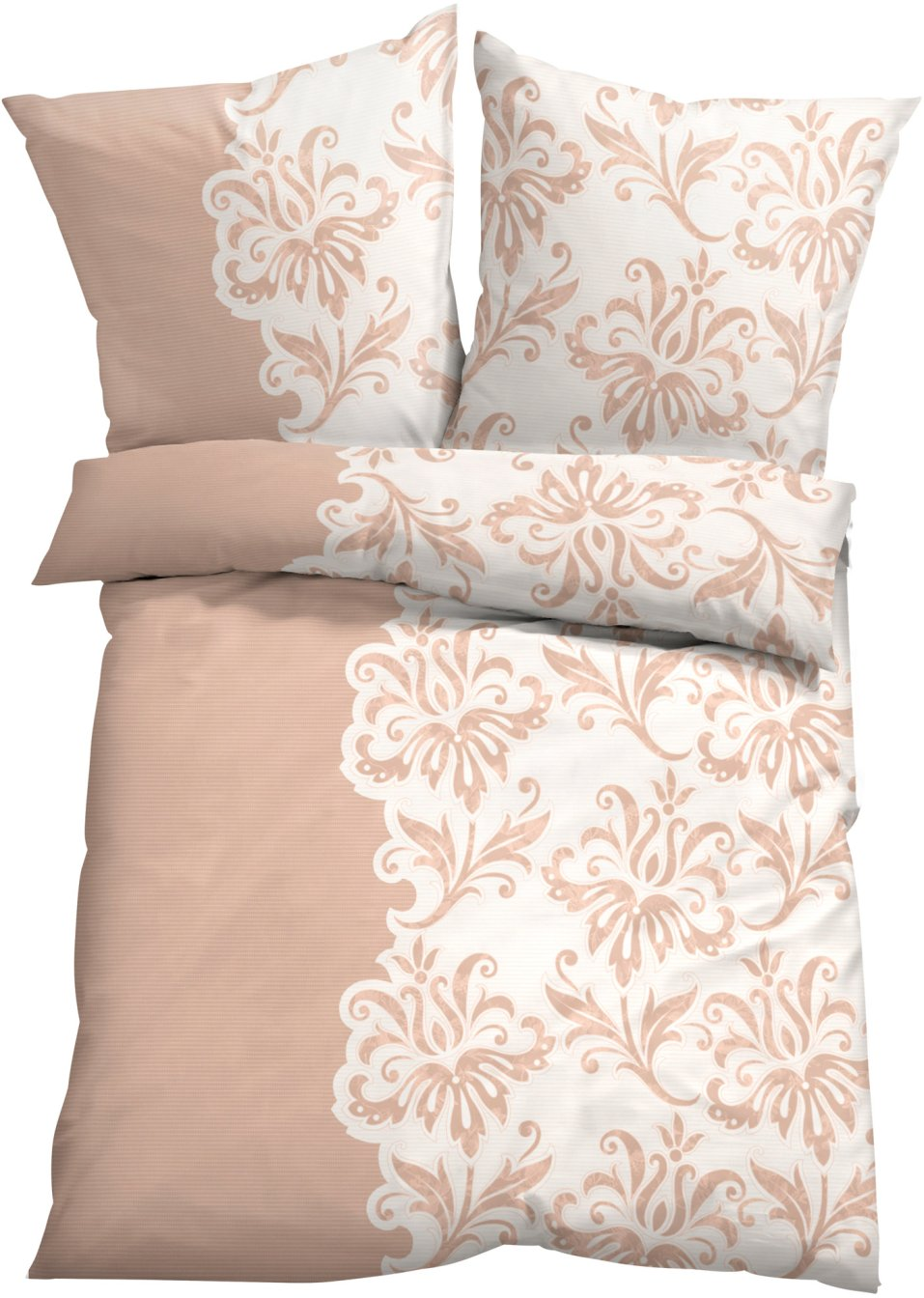 ein stilvoller eyecatcher die bettw sche thea puder linon. Black Bedroom Furniture Sets. Home Design Ideas