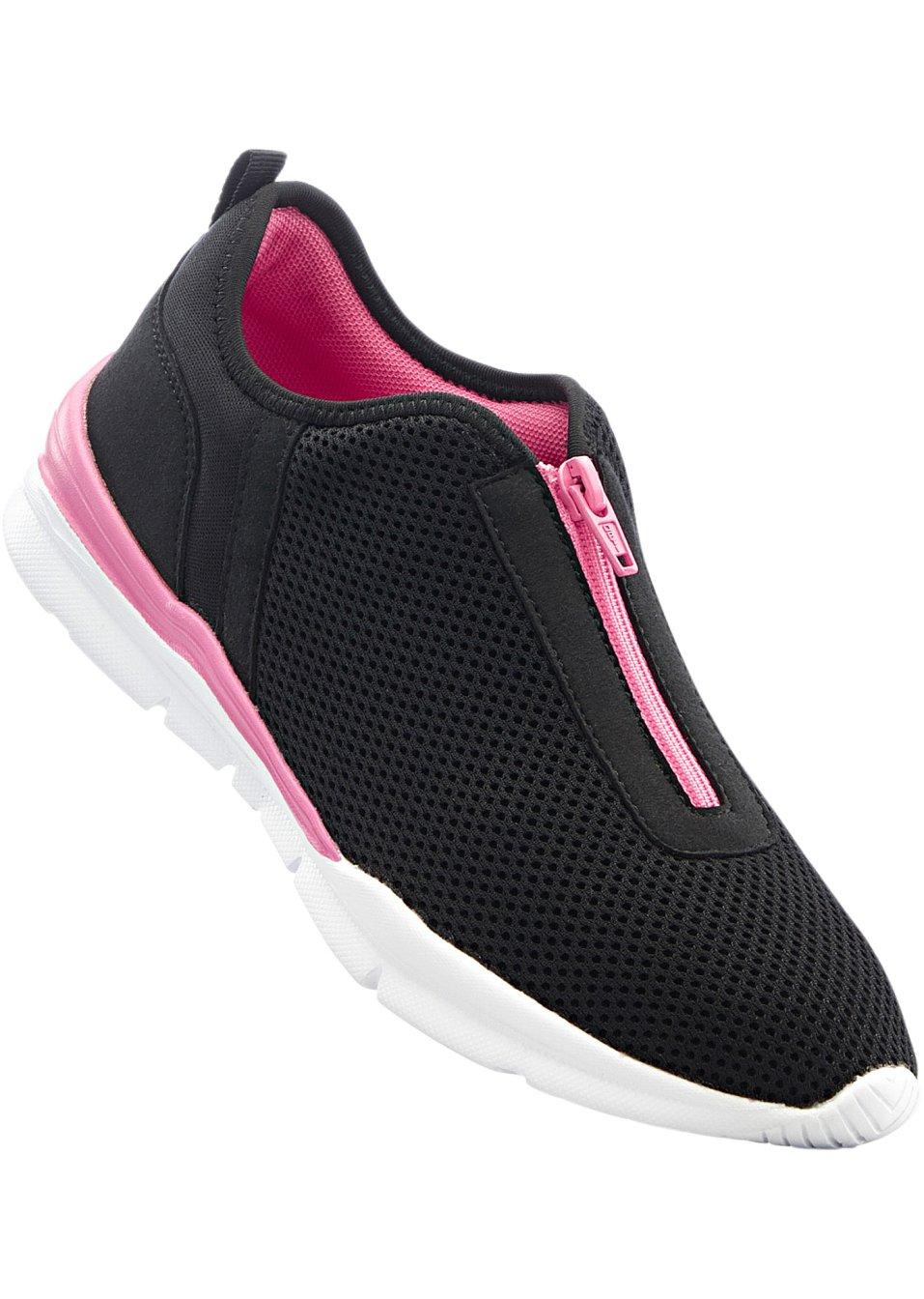 bequemer sneaker in formsch ner optik von bpc schwarz pink. Black Bedroom Furniture Sets. Home Design Ideas